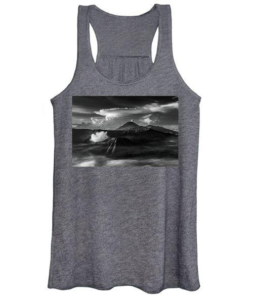 Dramatic View Of Mount Bromo Women's Tank Top