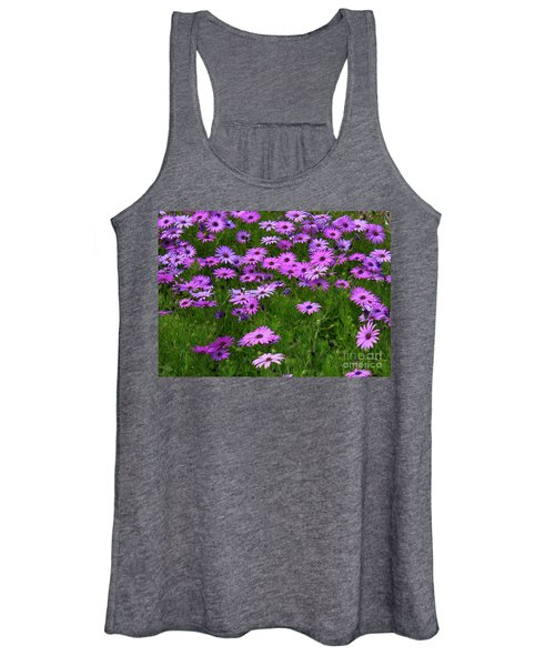 Dreaming Of Purple Daisies  Women's Tank Top