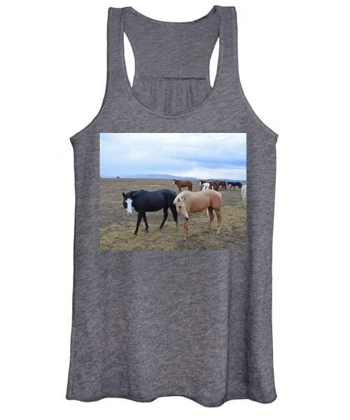 Dreaming Of Wild Horses Women's Tank Top