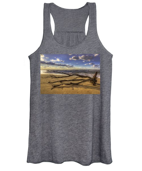 Women's Tank Top featuring the photograph Drifting by Pete Federico