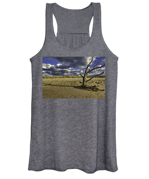 Women's Tank Top featuring the photograph Driftwood II by Pete Federico