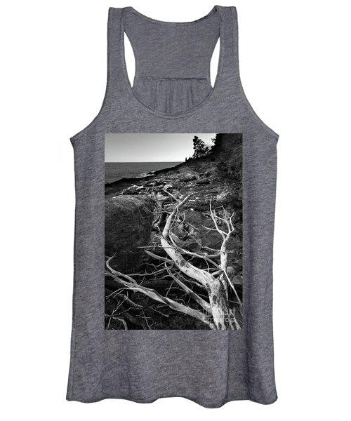 Driftwood Tree, La Verna Preserve, Bristol, Maine  -20999-30003 Women's Tank Top