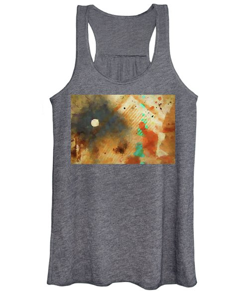 Dropcloth Moon Women's Tank Top