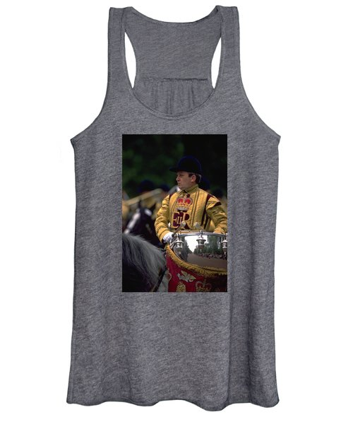Drum Horse At Trooping The Colour Women's Tank Top