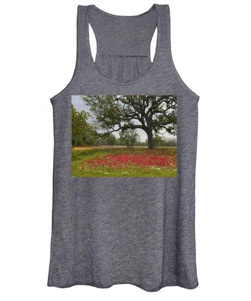 Drummonds Phlox Meadow Near Leming Texas Women's Tank Top