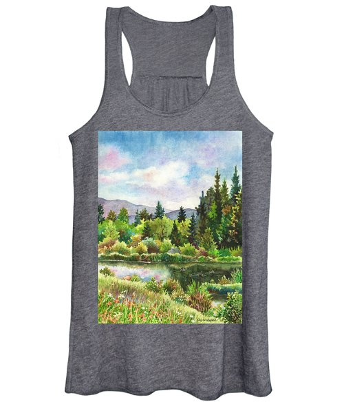 Duck Pond At Caribou Ranch Women's Tank Top