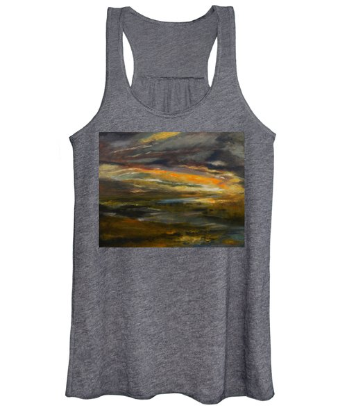 Dusk At The River Women's Tank Top