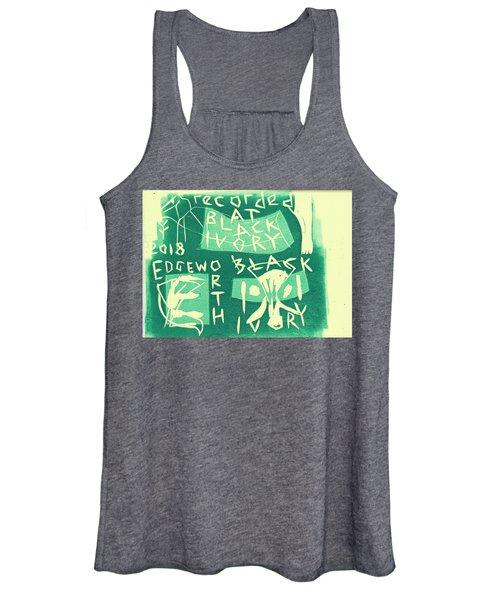 E Cd Green Women's Tank Top