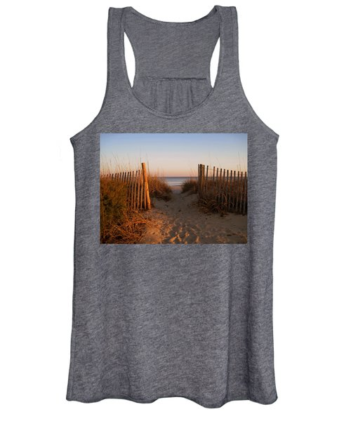 Early Morning At Myrtle Beach Sc Women's Tank Top
