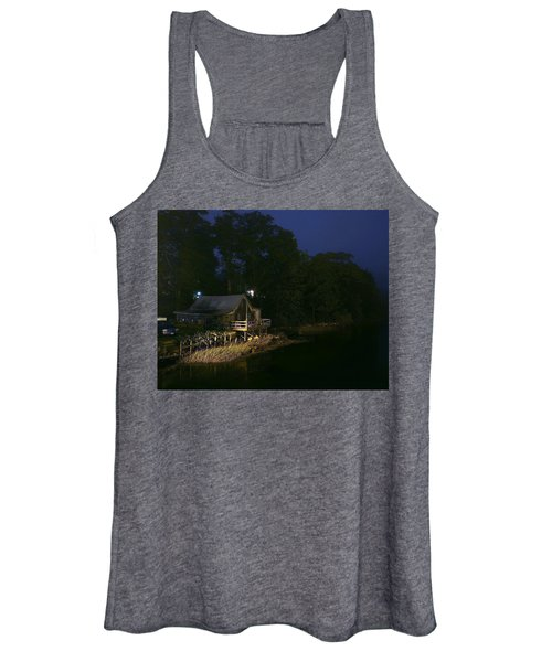 Early Morning On The River Women's Tank Top