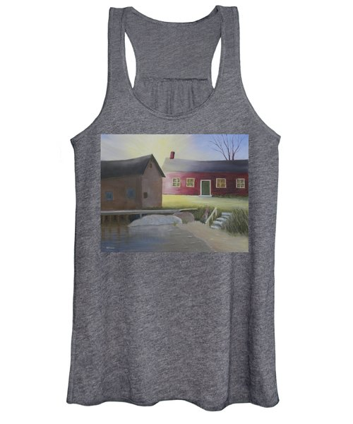 Early Morning Sun At The Shop Women's Tank Top