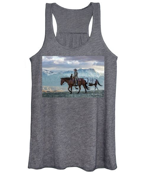Early October Hunt Wild West Photography Art By Kaylyn Franks Women's Tank Top