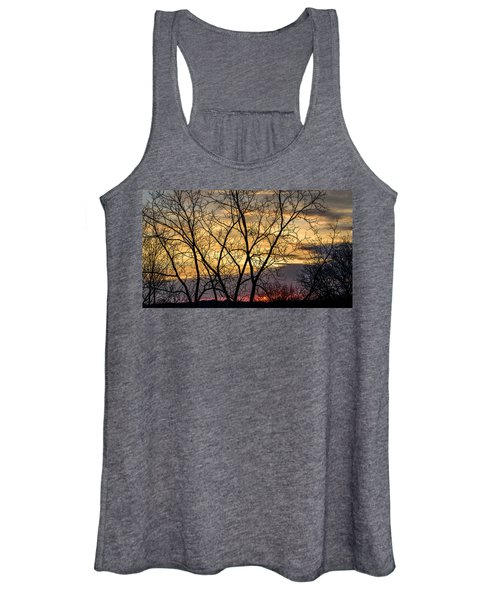 Early Spring Sunrise Women's Tank Top