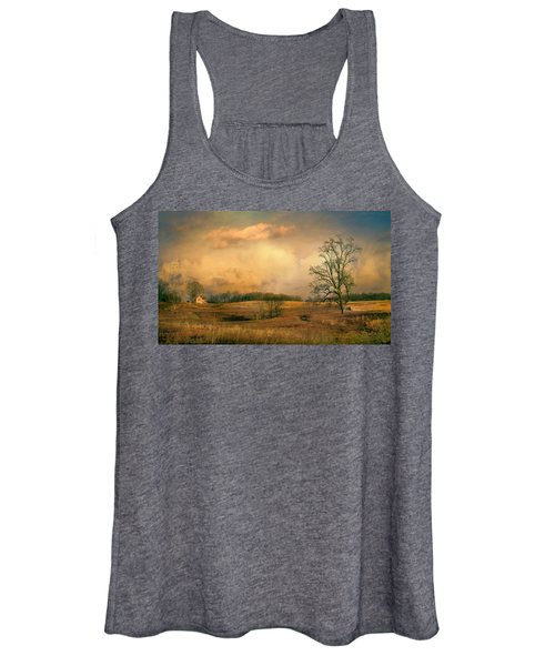 Early Spring Storm Women's Tank Top