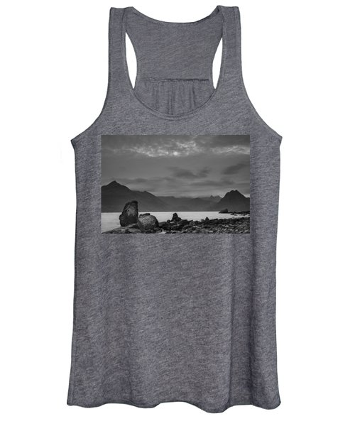 Egol Beach On The Isle Of Skye In Scotland Women's Tank Top