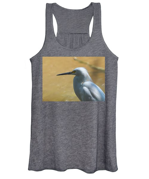 Egret Pose Women's Tank Top