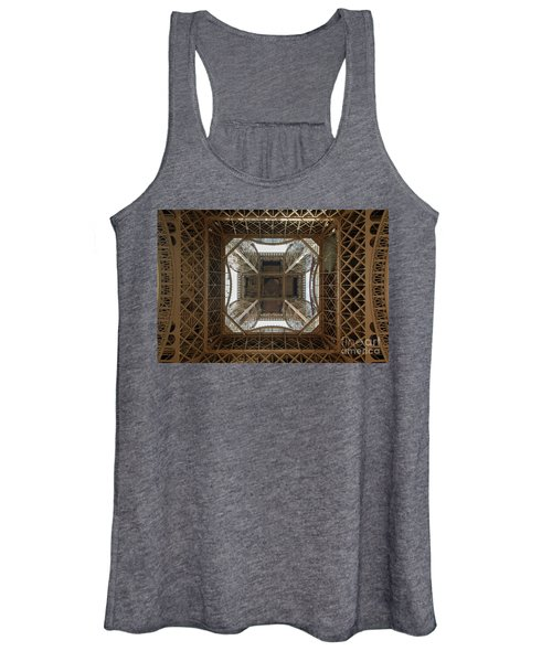 Eiffel Tower Abstract Women's Tank Top