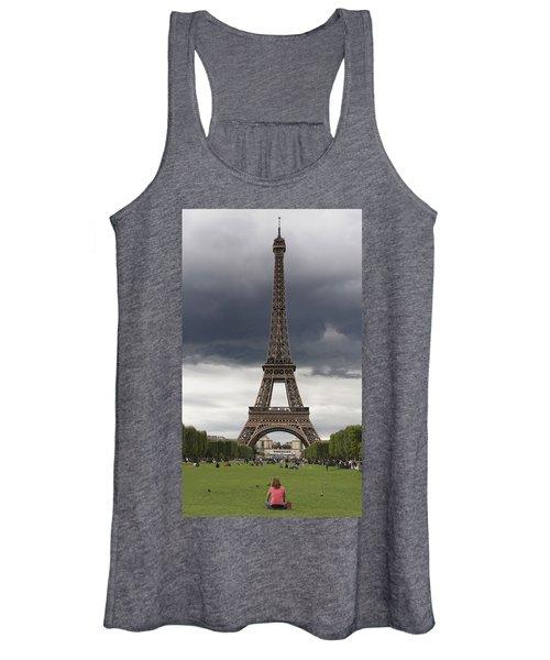 Eiffel Tower. Paris Women's Tank Top