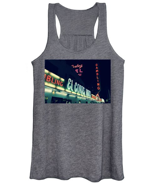 El Cortez Hotel At Night Women's Tank Top