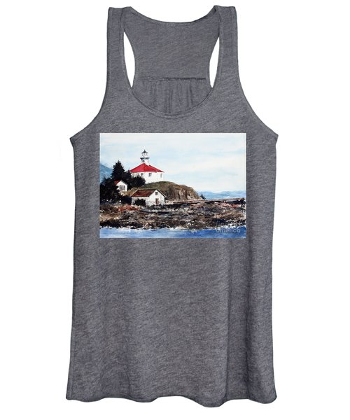 Eldred Rock Lighthouse Women's Tank Top