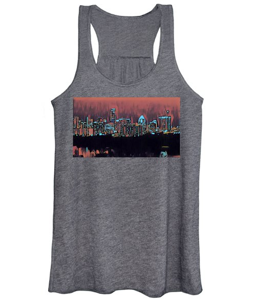 Electric Austin At Dusk Women's Tank Top