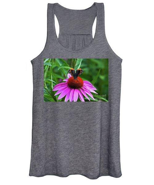 Elegant Butterfly Women's Tank Top