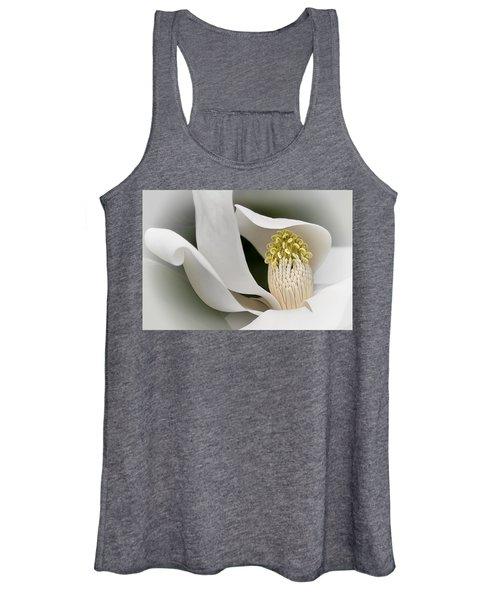 Elegant Magnolia II Women's Tank Top