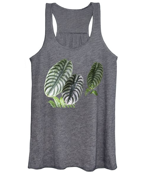 Elephant Ears Transparency Women's Tank Top