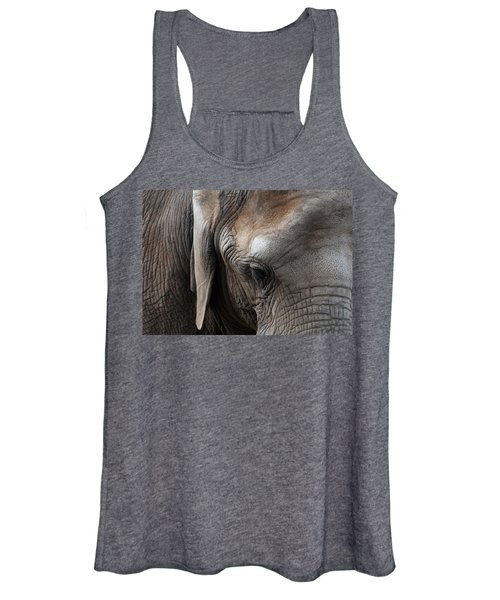 Elephant Eye Women's Tank Top