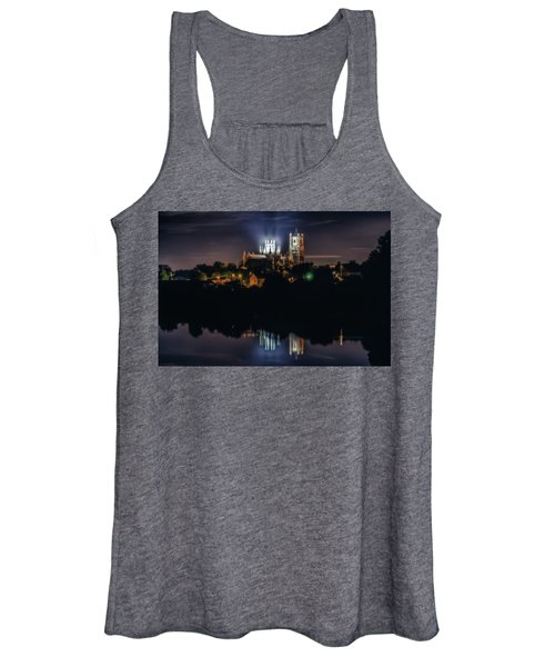 Ely Cathedral By Night Women's Tank Top