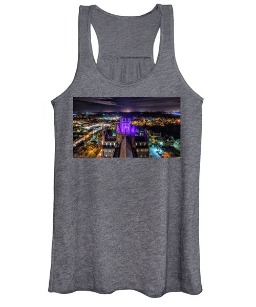Ely Cathedral In Purple Women's Tank Top