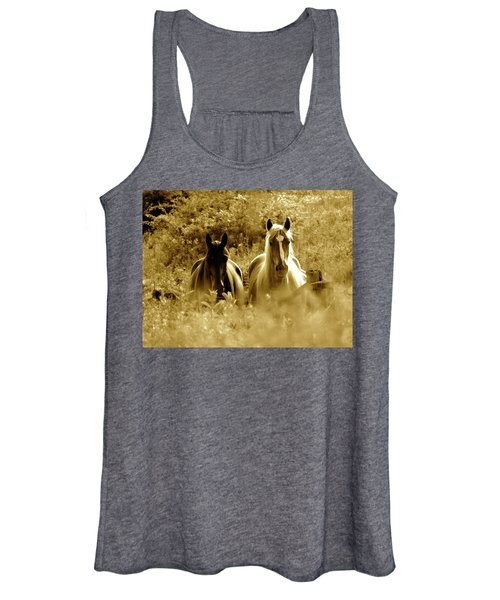 Emerging From The Farm Women's Tank Top
