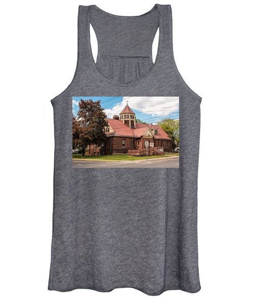 Emily Williston Memorial Library And Museum Women's Tank Top