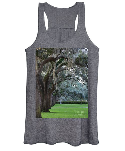Emmet Park In Savannah Women's Tank Top