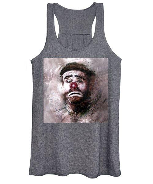 Emmit Kelly Clown Women's Tank Top