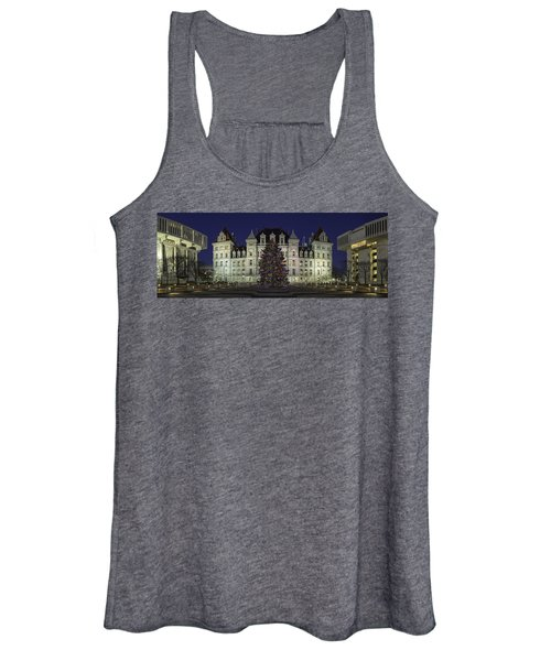 Empire State Plaza Holiday Women's Tank Top