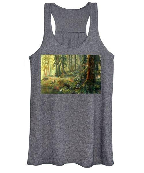 Enchanted Rain Forest Women's Tank Top