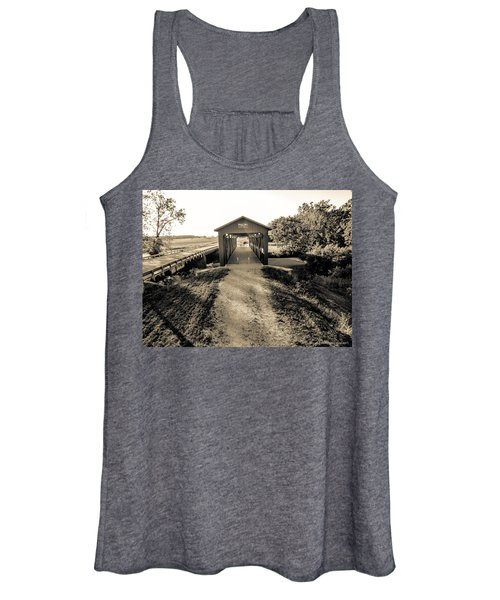 Engle Mill Covered Bridge Women's Tank Top