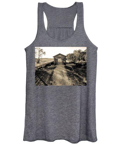 Engle Mill Covered Bridge Women's Tank Top