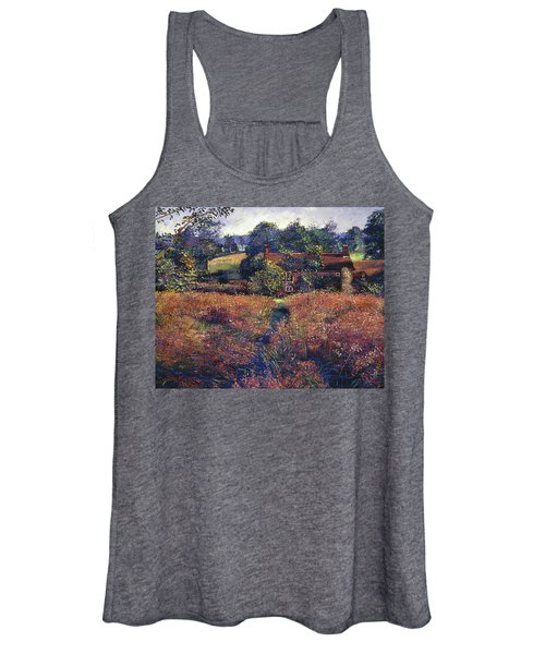 English Country Fields Women's Tank Top