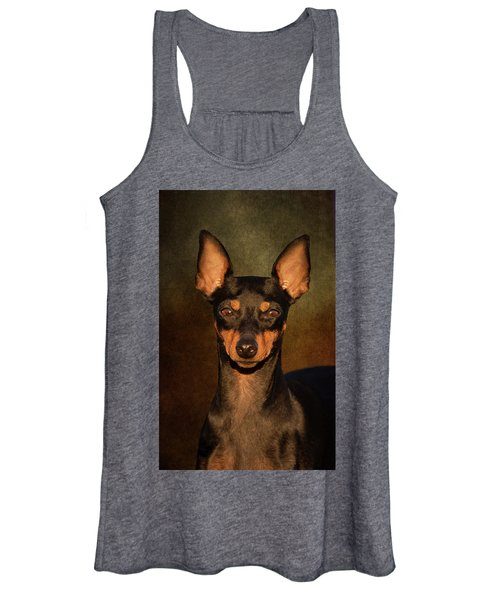 English Toy Terrier Women's Tank Top