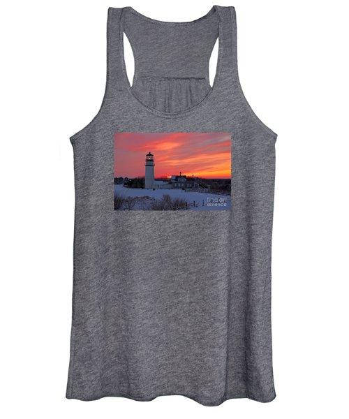 Epic Sunset At Highland Light Women's Tank Top