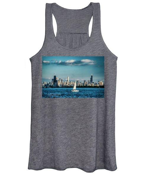 Evan's Chicago Skyline  Women's Tank Top