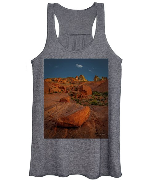 Evening In The Valley Of Fire Women's Tank Top