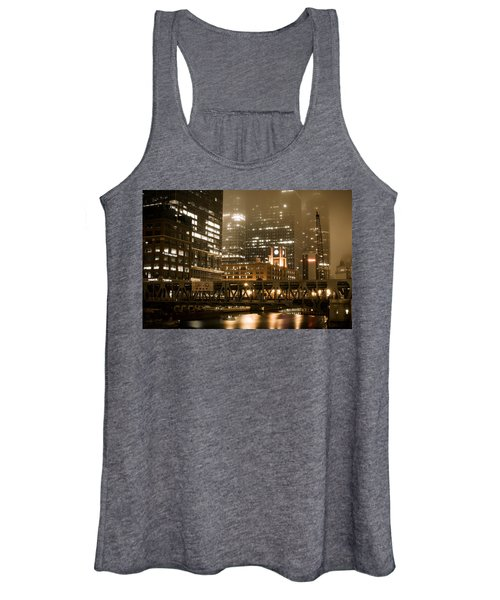 Evening In The Windy City Women's Tank Top