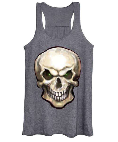 Evil Skull Women's Tank Top