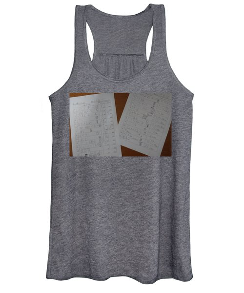 Faint Memory Table Women's Tank Top