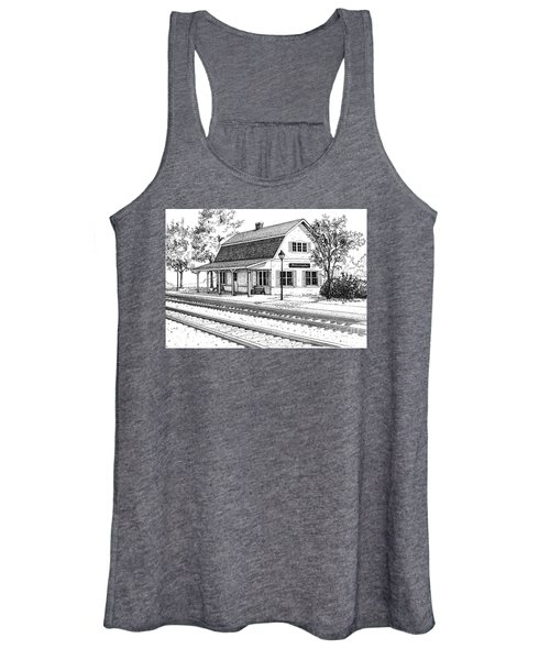 Fairview Ave Train Station Women's Tank Top