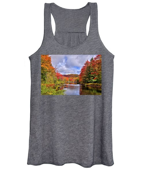 Fall Color On The River Women's Tank Top