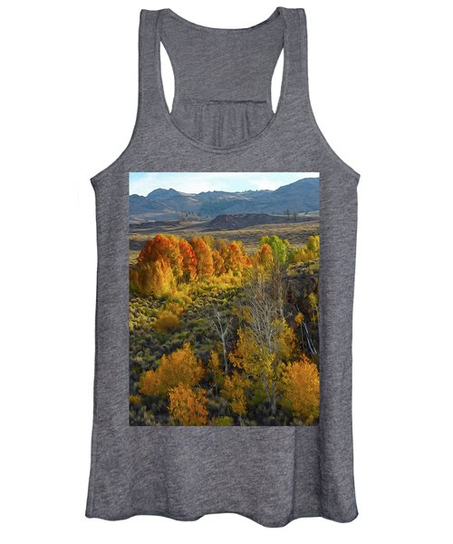 Fall Colors At Aspen Canyon Women's Tank Top